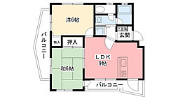 ドミール大森 C棟[2階]の間取り