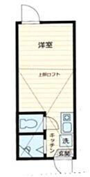 東京都足立区千住寿町の賃貸アパートの間取り