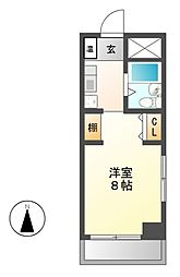 BELLE TOPIA稲沢 II[4階]の間取り