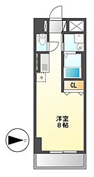 サン・名駅太閤ビル[8階]の間取り
