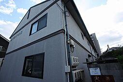 広島県福山市野上町2丁目の賃貸アパートの外観