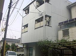 京都府京都市山科区四ノ宮泉水町の賃貸アパートの外観