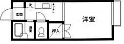 埼玉県川口市上青木西3丁目の賃貸アパートの間取り