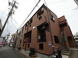 愛知県名古屋市中村区名楽町1の賃貸アパートの外観
