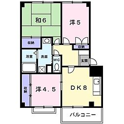 メゾンコジマA[0302号室]の間取り