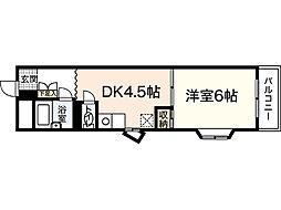 北川ビル[3階]の間取り
