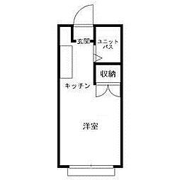 東京都足立区竹の塚6丁目の賃貸アパートの間取り