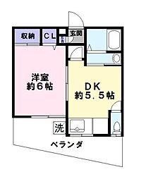 山本住宅[1階]の間取り