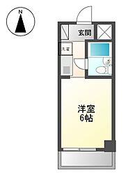 コンフォール名城[5階]の間取り
