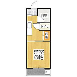 京栄マンション[5階]の間取り