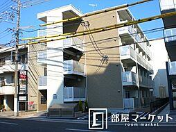 愛知県豊田市元城町4丁目の賃貸アパートの外観