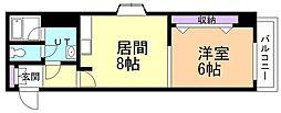 第5ふじビル[4階]の間取り