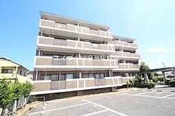 岡山県岡山市北区平野の賃貸マンションの外観
