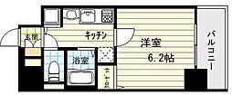 プレサンス難波幸町[9階]の間取り