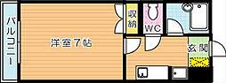 デュエル本城 B棟[2階]の間取り