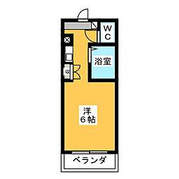 メトロポリタン37[4階]の間取り