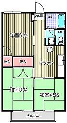 パームハイツ[101号室]の外観