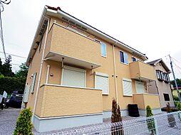 東京都東大和市奈良橋1丁目の賃貸アパートの外観