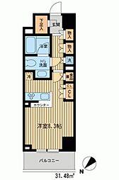 HF新横浜レジデンス[0205号室]の間取り