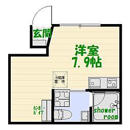 ブライトハウス亀有[1階]の間取り