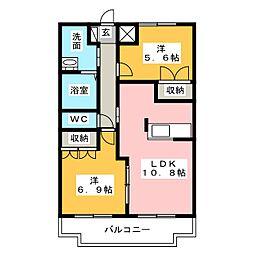 La'pin[1階]の間取り