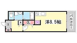 willDo浜崎通[610号室]の間取り