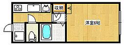 ドルフィン 1[206号室]の間取り