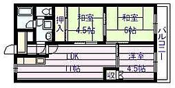 ドリーム松村壱番館[1階]の間取り