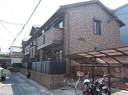 京都府京都市伏見区向島本丸町の賃貸アパートの外観