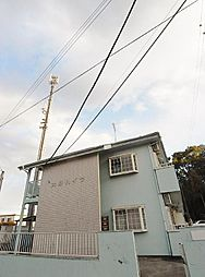 埼玉県日高市原宿の賃貸アパートの外観