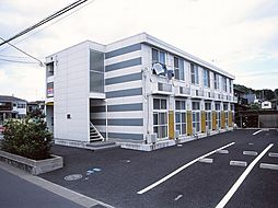 神奈川県海老名市上今泉1丁目の賃貸アパートの外観