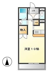 コッジィーコートFUKATA[1階]の間取り