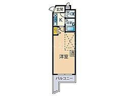 シャルム平尾[5階]の間取り