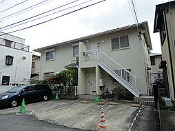 神奈川県横浜市神奈川区松見町4丁目の賃貸アパートの外観