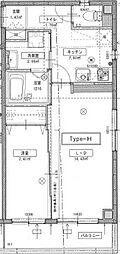 レキシントンマンション青柳II[304号室]の間取り