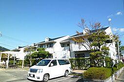 福岡県古賀市舞の里2の賃貸アパートの外観