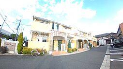 大阪府堺市東区日置荘田中町の賃貸アパートの外観
