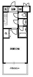 スプランディッド新大阪III[13階]の間取り