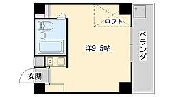 NRビル[302号室]の間取り