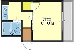 ハイツアサカワ[103号室]の間取り