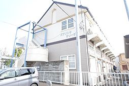 埼玉県越谷市西方2丁目の賃貸アパートの外観