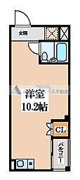 大阪府東大阪市水走2の賃貸マンションの間取り
