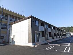 鳥取県倉吉市旭田町の賃貸アパートの外観