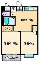 第1タカサハイム[1階]の間取り