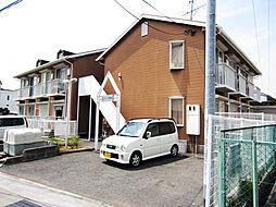 大阪府泉佐野市羽倉崎上町1丁目の賃貸アパートの外観