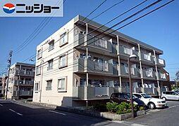 ロイヤル新明A・B[1階]の外観