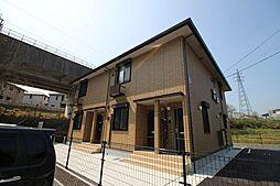 山口県下関市小月市原町の賃貸アパートの外観