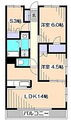 エコタワーバオバブ[2階]の間取り