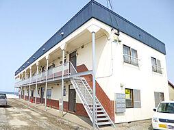 北海道余市郡余市町栄町の賃貸アパートの外観