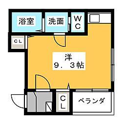 ベルフィノ名古屋[1階]の間取り